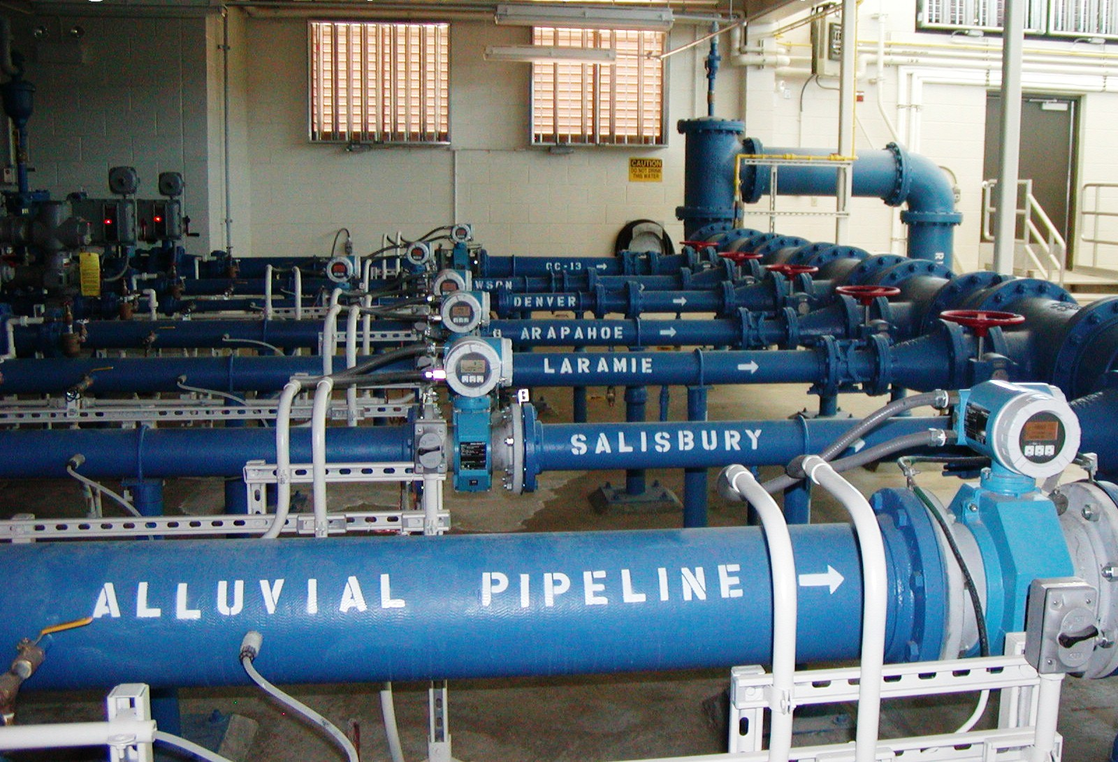 Regional Pump Facility Interior